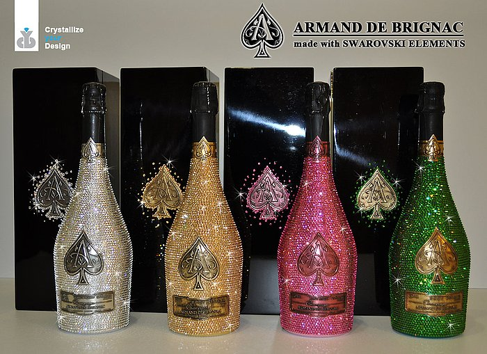 ARMAND DE BRIGNAC LIMIDET COLOR EDITION MADE WITH SWAROVSKI ®