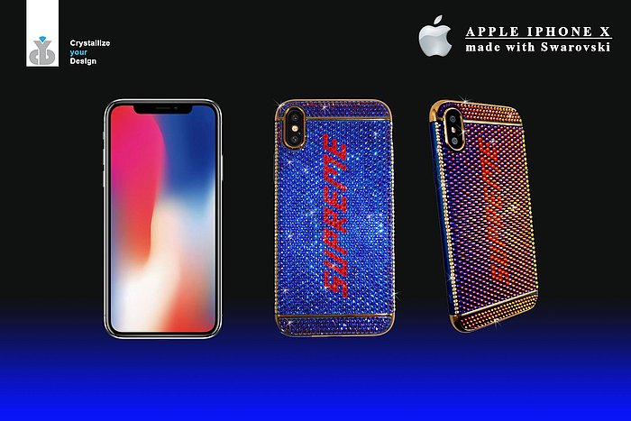 Apple IPhone X MADE WITH SWAROVSKI ®