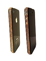 IPhone 4 Black 24Karat Gold